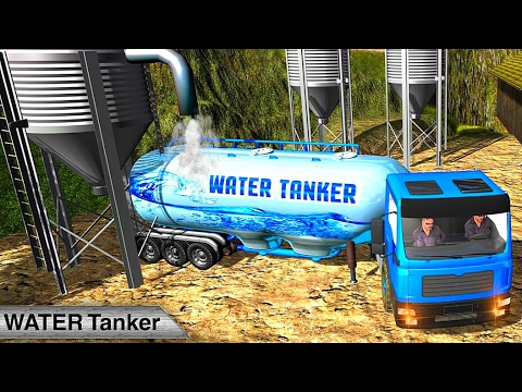 Truck Transporter Water Tanker - Best Android Gameplay HD thumbnail