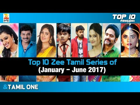 Top 10 Zee Tamil TV Series of January to June 2017