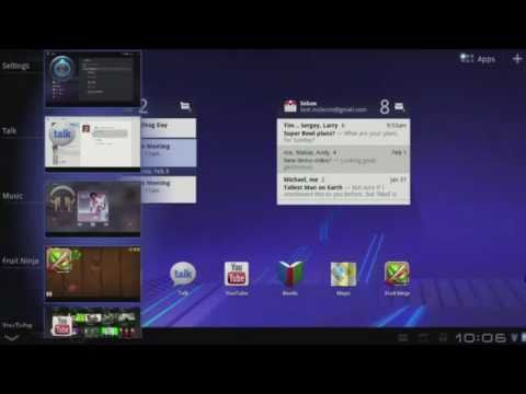 Google Android 3.0 Honeycomb Presentation and Demo of the Features