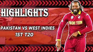 Pakistan Vs West Indies | Full Highlights | 1st T20 | PCB