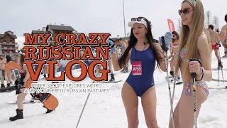 My crazy Russian vlog. Peter Scott explores weird & wonderful Russian pastimes