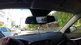 Обзор видеорегистратора встроеннго в зеркало заднего вида SHO-ME SFHD 500