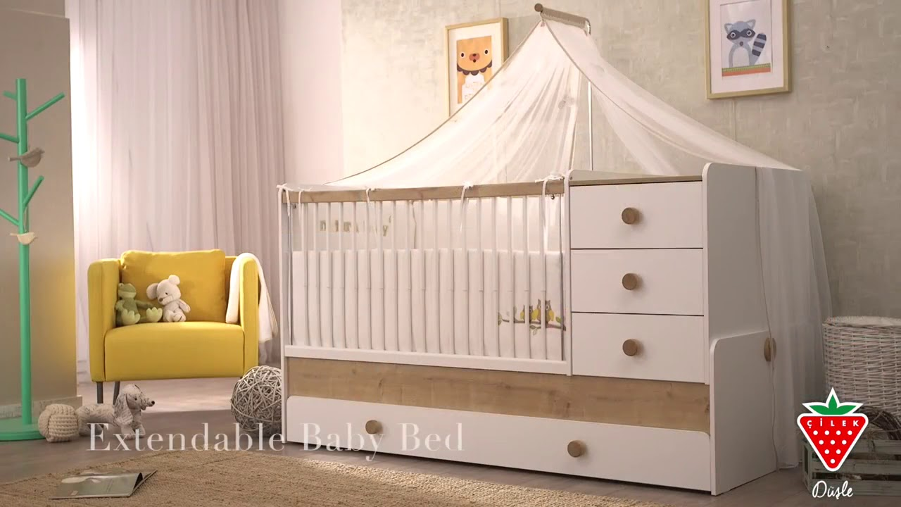 Cunas bebé Serie Natura Baby - YouTube