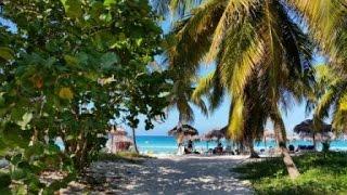 Дорога к пляжу и сам пляж Варадеро, Куба 2016. Road to Varadero beach, Cuba 2016.(Читайте наш блог о путешествиях
