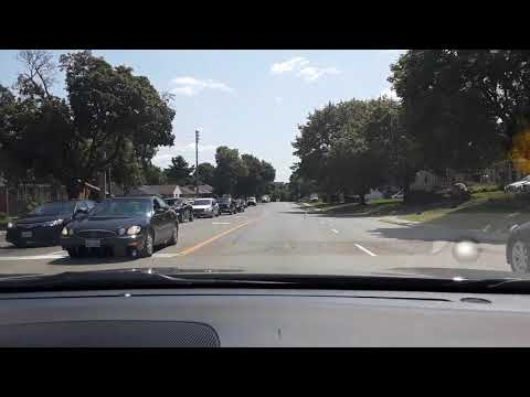 Driving Around Brockville City In Ontario Canada