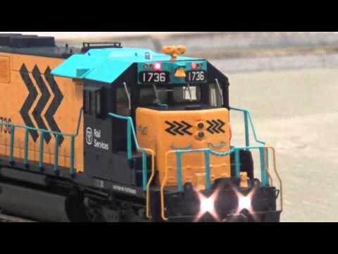Bowser SD40-2 HO Scale Ontario Northland Railway with DCC and Sound