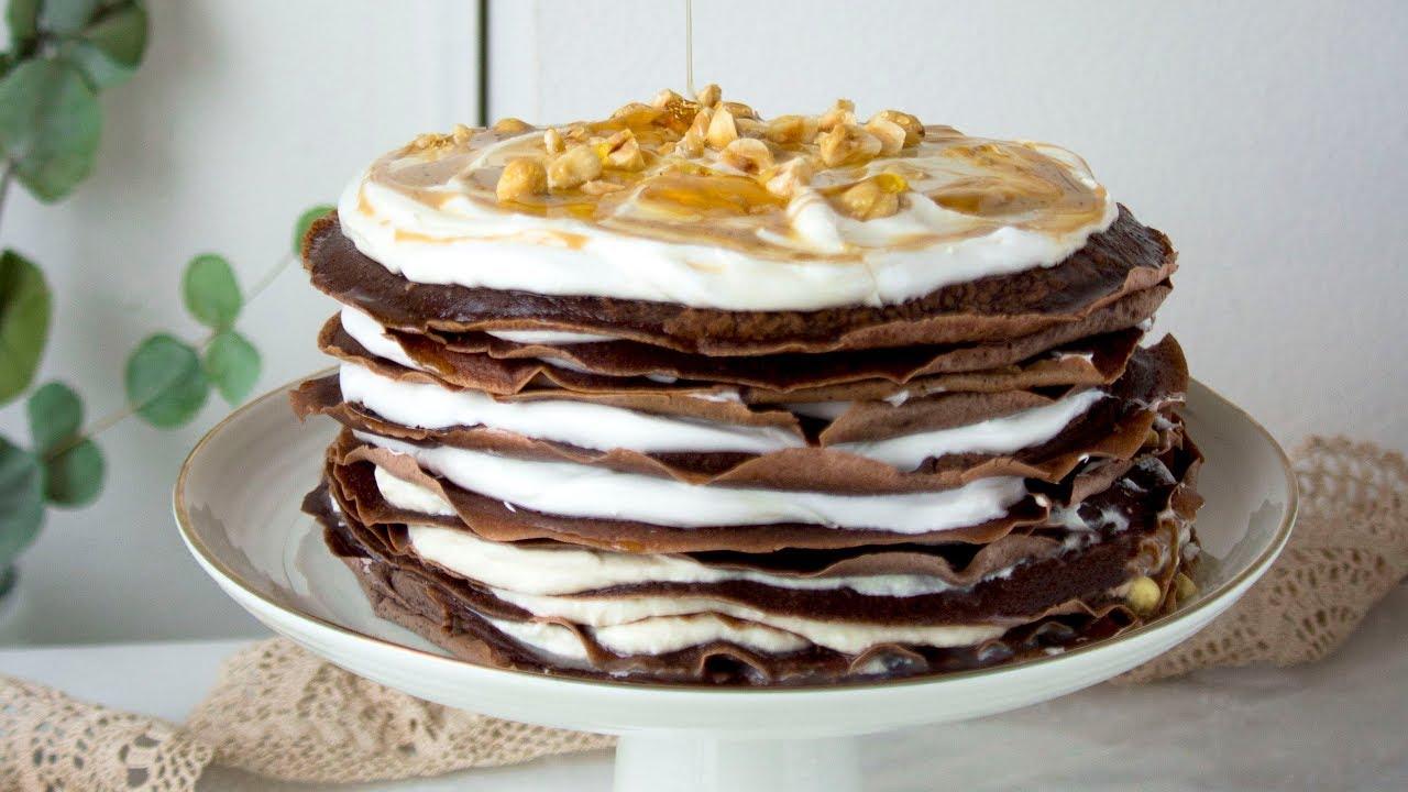Fırınsız Krep Pasta Tarifi Videosu
