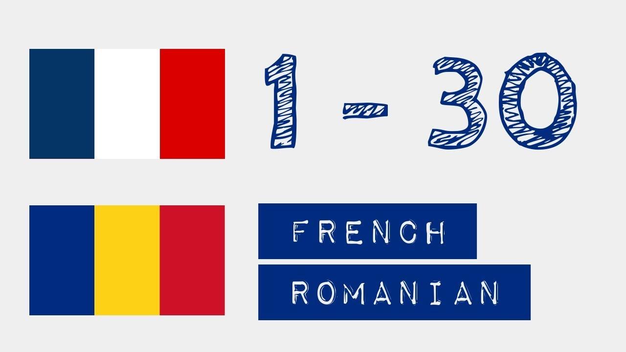 Numerele in franceza