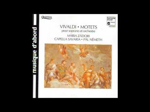 Antonio Vivaldi, Motets, Máriá Zádori, Pál Németh