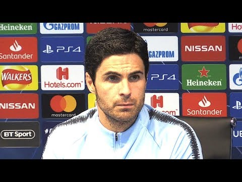 Manchester City 1-2 Lyon - Mikel Arteta Full Post Match Press Conference - Champions League