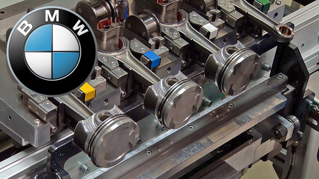 Bmw Engine Factory Youtube