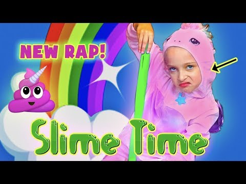 BEST SLIME SONG EVER! Dance Moms Lilly K RAPS 😂