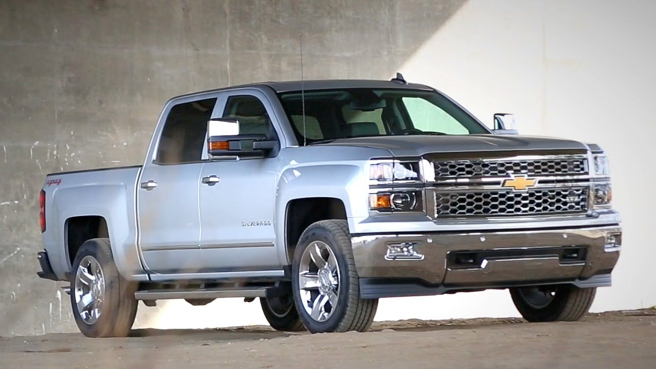2004 Chevrolet Silverado 1500 Crew Cab >> 2015 Chevy Silverado and GMC Sierra - Review and Road Test - YouTube
