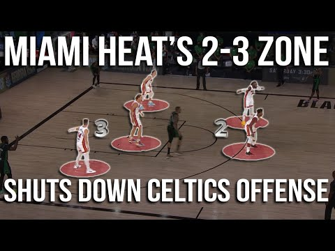 [Half Court Hoops] A review of the Celtics offence vs Miami's zone defence