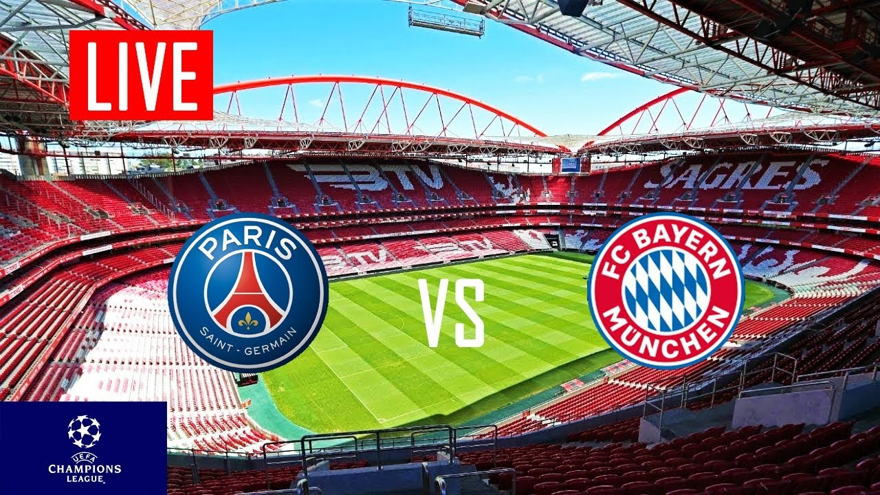 PSG vs BAYERN MUNICH LIVE Stream & Reaction 🔴 - YouTube