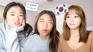 24 HOURS SPEAKING IN KOREAN TO EACH OTHER PT. 2!!!!