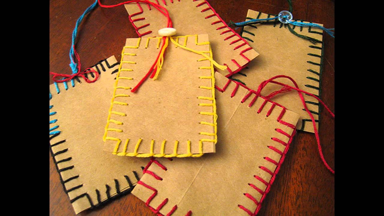 Brown Paper Bag Crafts Ideas Home Art Design Decorations Youtube