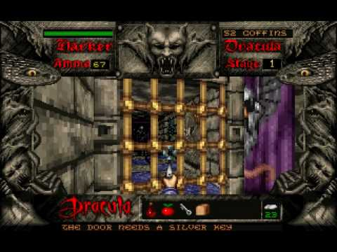 DOS - Bram Stoker's Dracula (Stage 1) [Part 1]