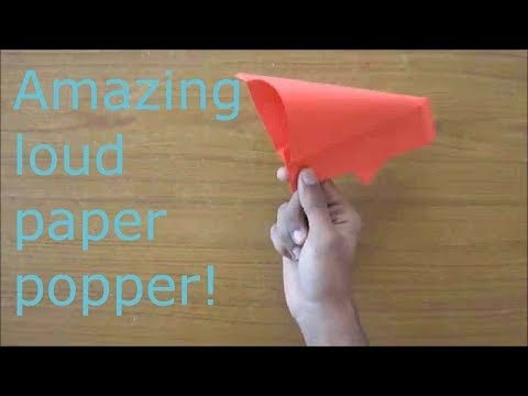 how to make the LOUDEST paper popper!!!!!