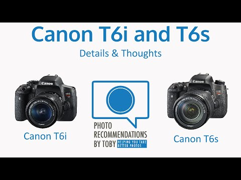 Camera Review: Canon T6s Compared to T6i – Discussed and Compared