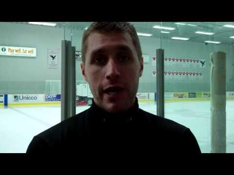 Matthieu Methot   Post Game Interview @ Carleton 29 10 11