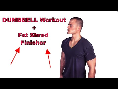 """Force x FED"" Upper Body Dumbbell Workout…Challenging Supersets For Full Body Toning"