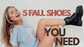 5 MUST HAVE FALL SHOES I Minim…