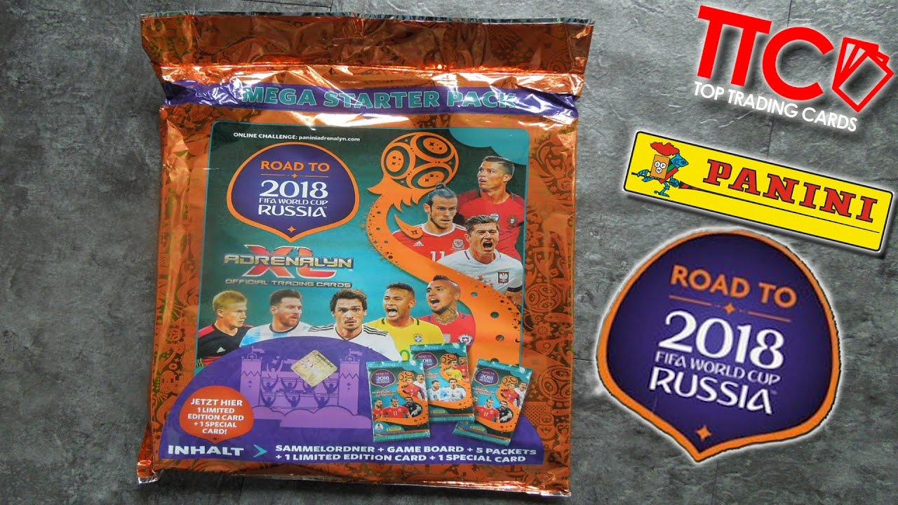 Road To Fifa World Cup Russia 2018 Adrenalyn Xl Starter Set