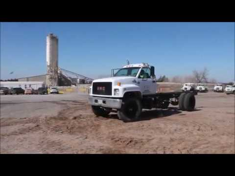 1991 GMC TopKick truck cab and chassis for sale | no-reserve Internet auction April 4, 2018