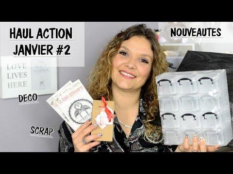 HAUL ACTION JANVIER #2 : Nouveautés , Déco , Scrap ....
