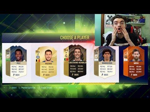 CR7 E' TROPPO FORTE !!! FUT DRAFT FIFA 18 ULTIMATE TEAM ITA