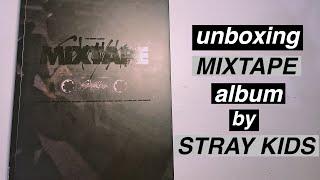 Download unboxing STRAY KIDS MIXTAPE album   skz predebut album 🔥