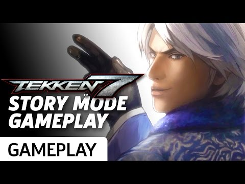 Tekken 7 Story Mode - Gameplay and Cinematics Montage