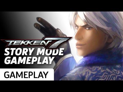 Tekken 7 Story Mode - Gameplay and Cinematics Montage