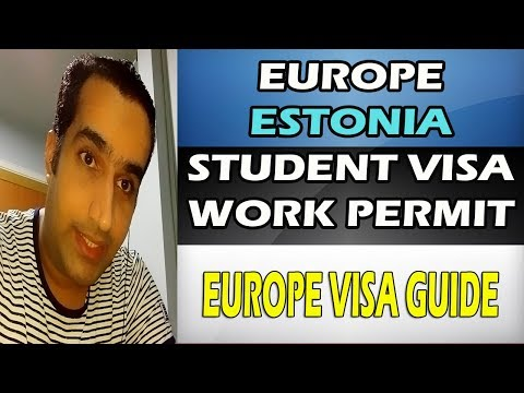 Estonia Study & Work Permit Visa