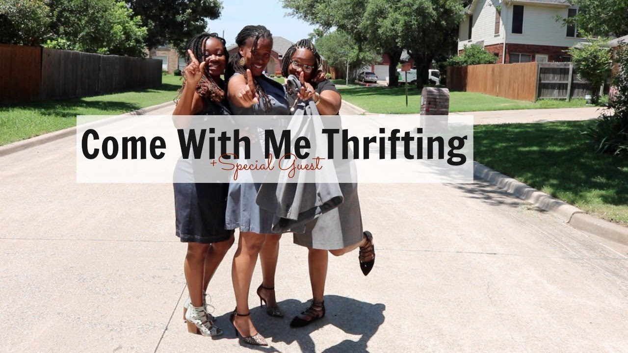 Come With Me To Texas Thrift | Mini Haul ft. Sister and My Bestfriend