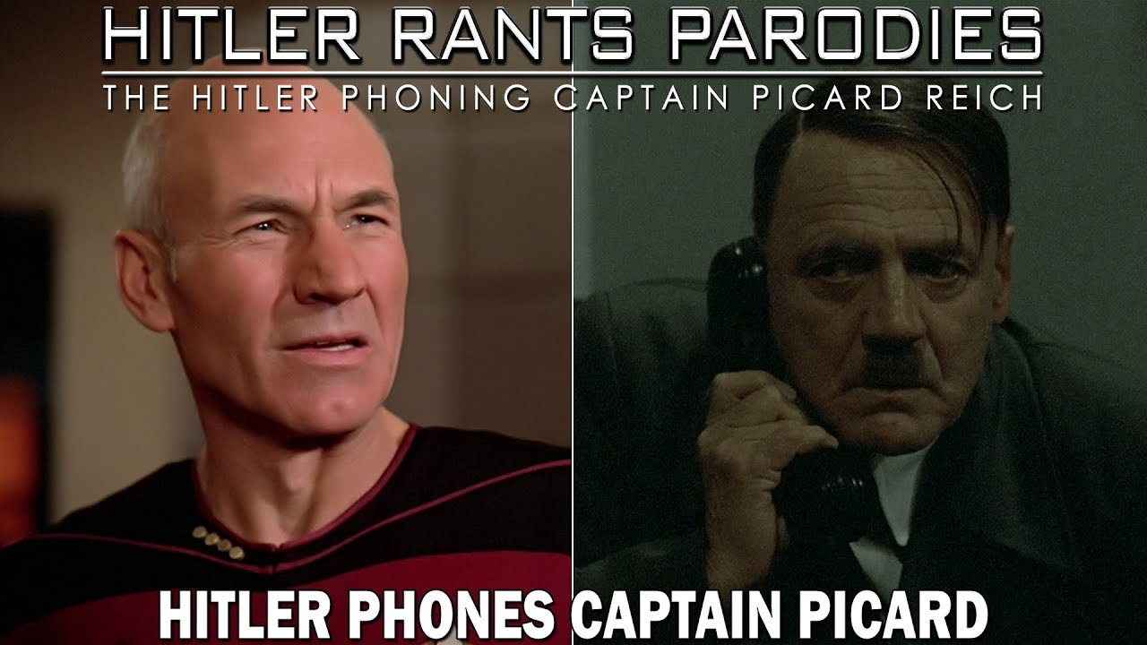 Hitler phones Captain Picard