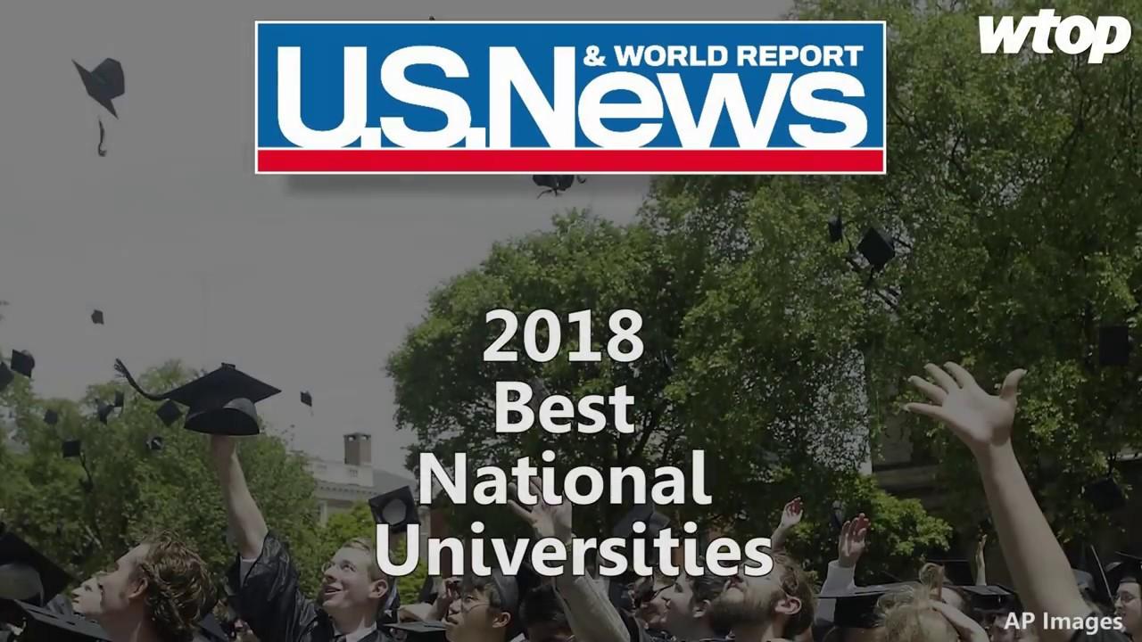 US News & World Report: 2018 Best Private Universities