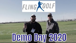 Fling Golf Demonstration PGA Demo Day 2020