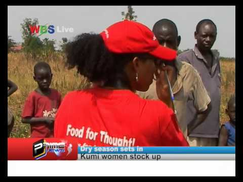 ActionAid Uganda launches Food for Thought Project in Kumi -WBS News