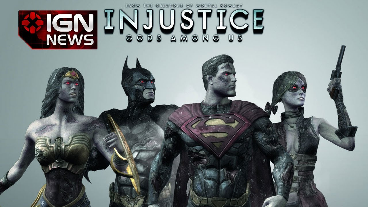 ign news zombie dlc for injustice gods among us youtube. Black Bedroom Furniture Sets. Home Design Ideas