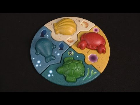 Marine Puzzle from Plan Toys