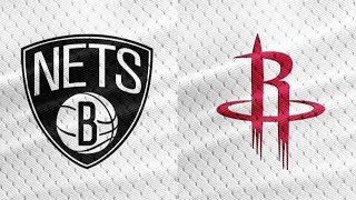 NBA Live Stream: Brooklyn Nets Vs Houston Rockets (Live Reaction & Play By Play) thumbnail