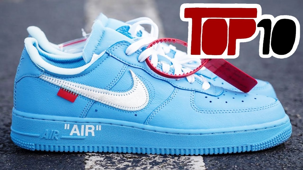 Top 10 Most Expensive Nike Shoes Of 2019