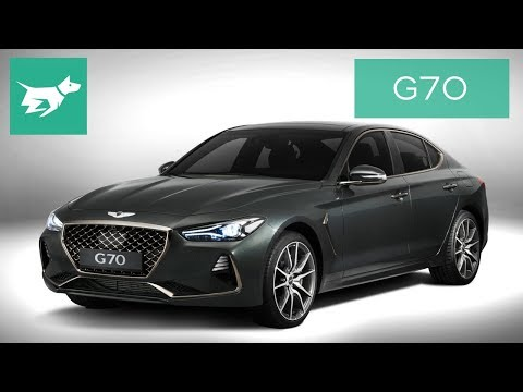 2018 Genesis G70 Detailed Walkaround Review including G70 3.3 twin turbo engine sound