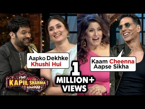 Kapil Sharma FLIRTS With Kareena & Kiara | Akshay Kumar Makes FUN Of Archana | The Kapil Sharma Show