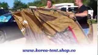 шатер Rio Grande 200 (установка)