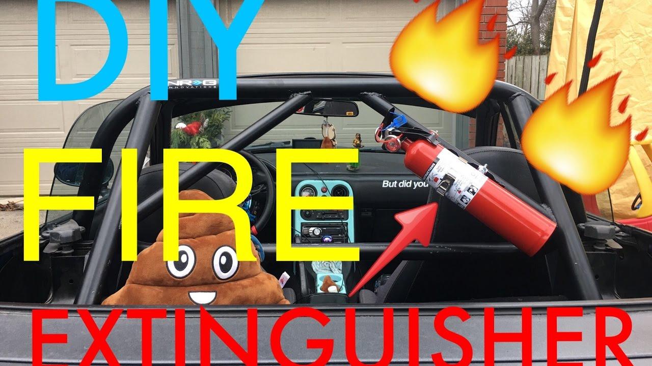 Smittybilt Fire Extinguisher Holder 2.5 LB. Roll Bar Mount ... |Fire Extinguisher Roll Bar Mount