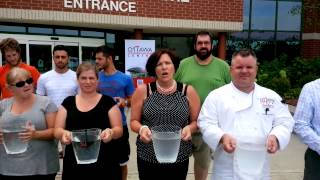 Staff at the Ottawa Conference and Event Centre do the Ice Bucket Challenge for ALS!