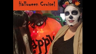 All Dressed Up for Halloween Night on the Carnival Fantasy Cruse Ship!! [Vlog ep4]